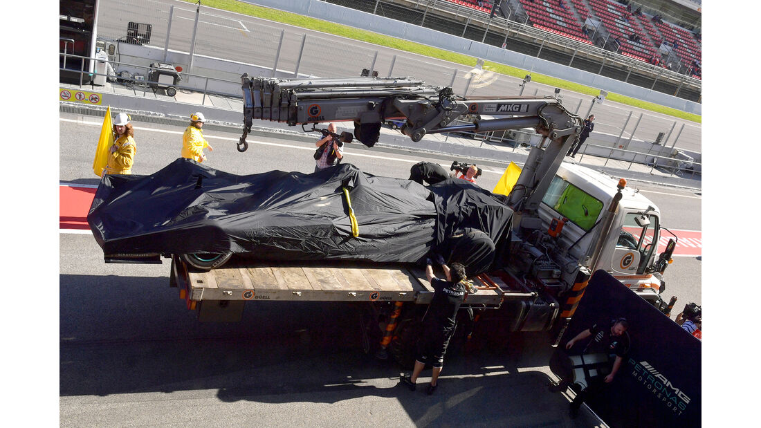 Valtteri Bottas - Mercedes - Barcelona - F1-Test - 26. Februar 2019