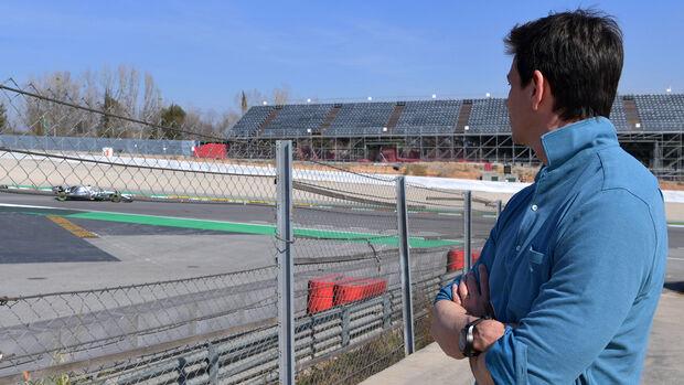 Valtteri Bottas - Mercedes - Barcelona - F1-Test - 28. Februar 2019