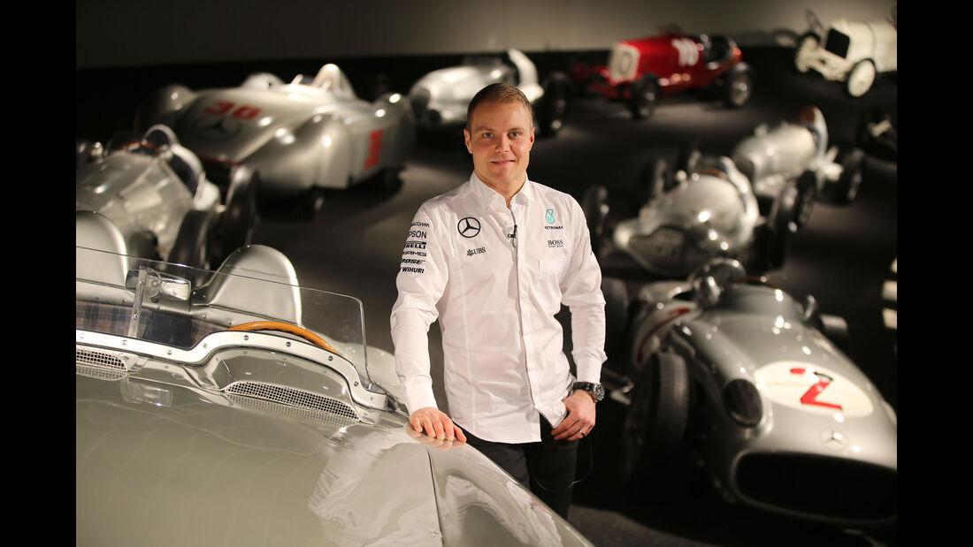Valtteri Bottas - Mercedes - Besuch - 13.2.2017