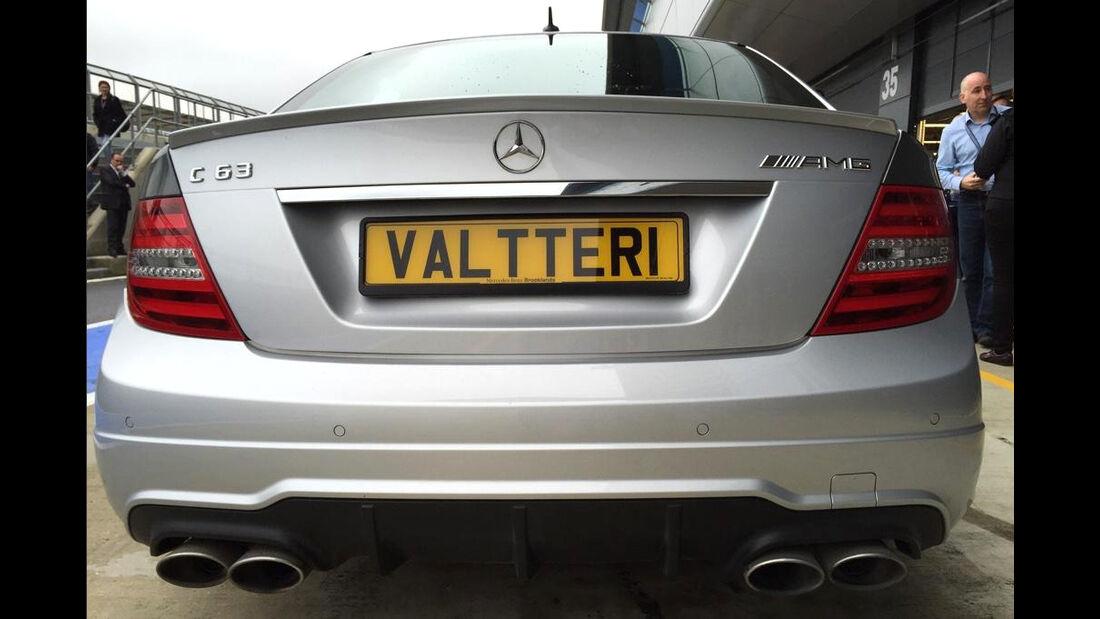 Valtteri Bottas - Mercedes C63 - Privatautos