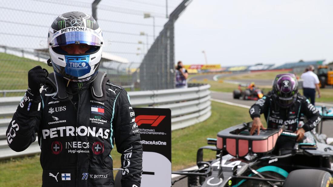 Valtteri Bottas - Mercedes - F1 70 Jahre Grand Prix - Silverstone
