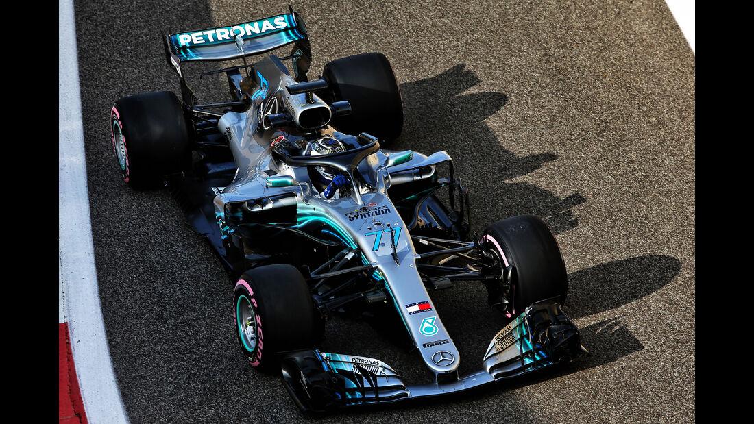 Valtteri Bottas - Mercedes - F1-Test - Abu Dhabi - 28. November 2018