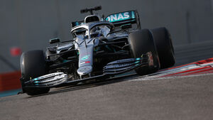 Valtteri Bottas - Mercedes - F1-Test - Abu Dhabi - 3. Dezember 2019