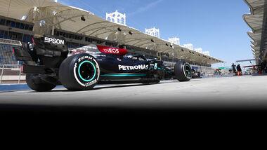 Valtteri Bottas - Mercedes - F1-Test - Bahrain - 2021