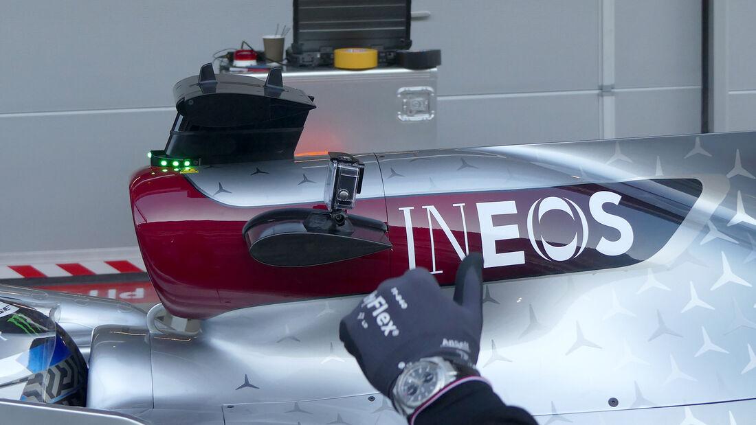 Valtteri Bottas - Mercedes - F1-Test - Barcelona - 19. Februar 2020