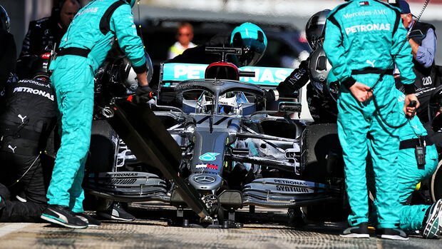 Valtteri Bottas - Mercedes - F1-Test - Barcelona - 20. Februar 2020