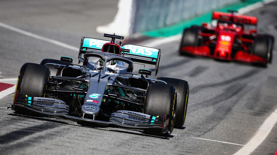 Valtteri Bottas - Mercedes - F1-Test - Barcelona - 26. Februar 2020