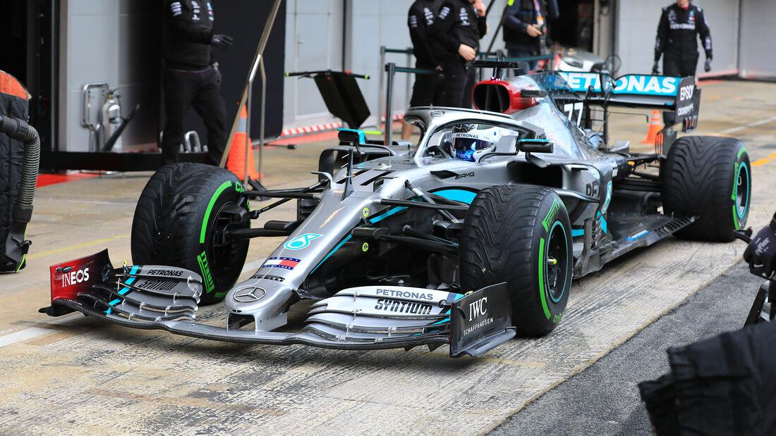 Valtteri Bottas - Mercedes - F1-Test - Barcelona - 27. Februar 2020