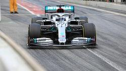 Valtteri Bottas - Mercedes - F1-Test - Barcelona - 28. Februar 2020