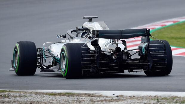 Valtteri Bottas - Mercedes - F1-Test - Barcelona - Tag 2 - 27. Februar 2018