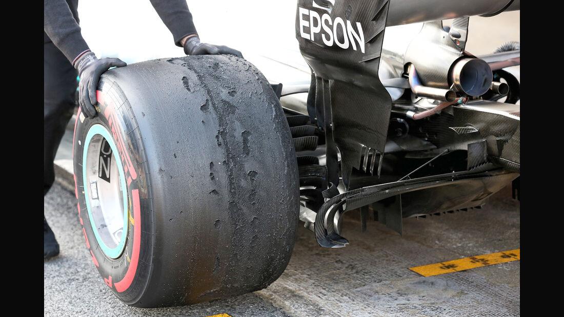 Valtteri Bottas - Mercedes - F1-Test - Barcelona - Tag 8 - 9. März 2018