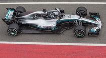 Valtteri Bottas - Mercedes - F1-Testfahrten - Barcelona - 1. Woche