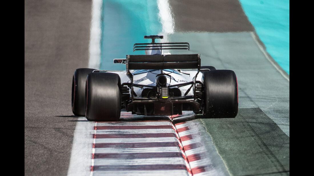 Valtteri Bottas - Mercedes - Formel 1 - Abu Dhabi - Test 2 - 29. November 2017