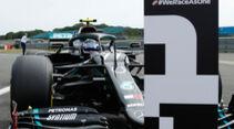 Valtteri Bottas - Mercedes - Formel 1 - GP 70 Jahre F1 - Silverstone - Samstag - 8. August 2020