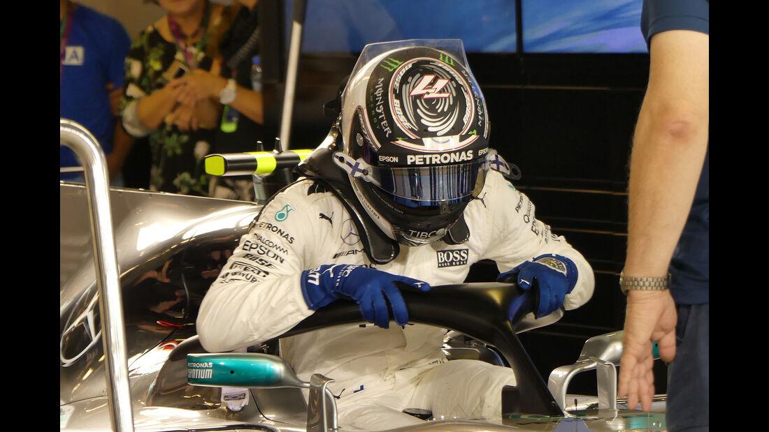 Valtteri Bottas - Mercedes - Formel 1 - GP Abu Dhabi - 23. November 2017