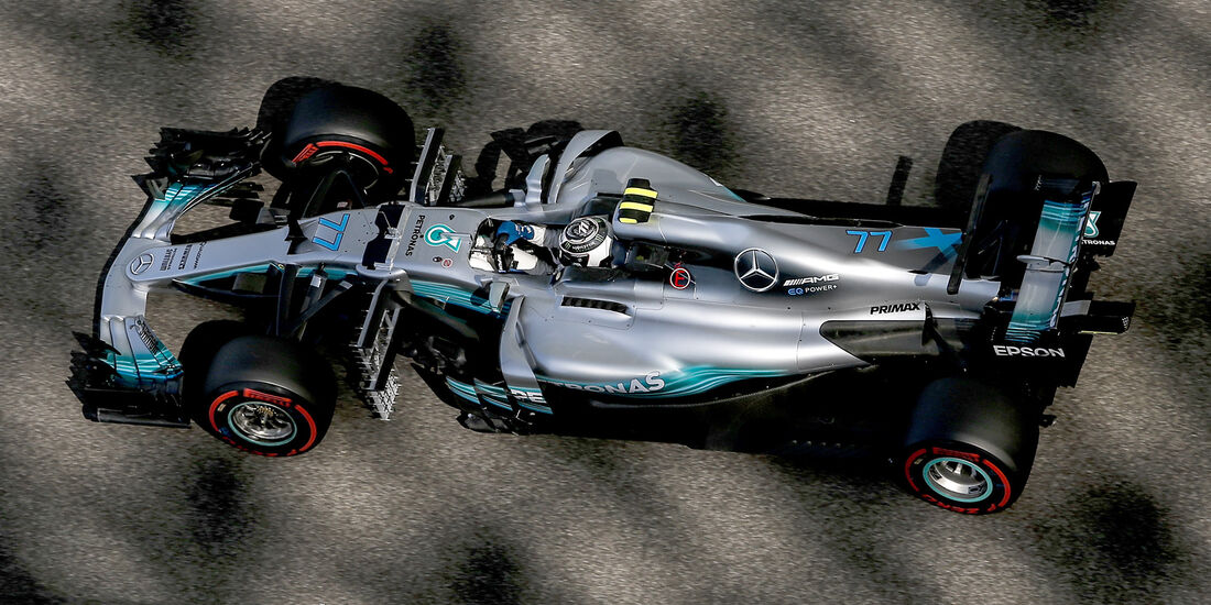 Valtteri Bottas - Mercedes - Formel 1 - GP Abu Dhabi - 24. November 2017