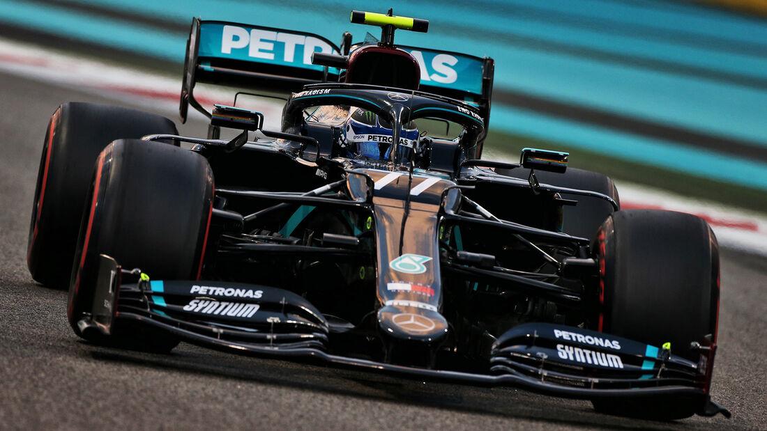 Valtteri Bottas - Mercedes - Formel 1 - GP Abu Dhabi - Samstag - 12.12.2020