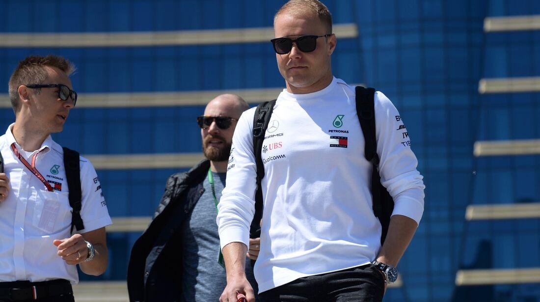Valtteri Bottas - Mercedes - Formel 1 - GP Aserbaidschan - 26. April 2018