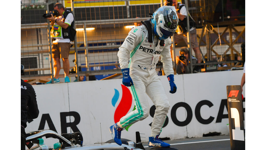 Valtteri Bottas - Mercedes - Formel 1 - GP Aserbaidschan - 27. April 2019