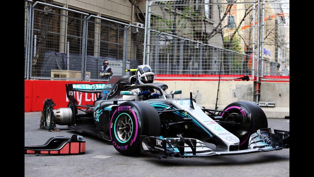 Valtteri Bottas - Mercedes - Formel 1 - GP Aserbaidschan - 29. April 2018