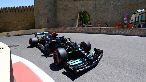 Valtteri Bottas - Mercedes - Formel 1 - GP Aserbaidschan - Baku - Freitag - 4.6.2021