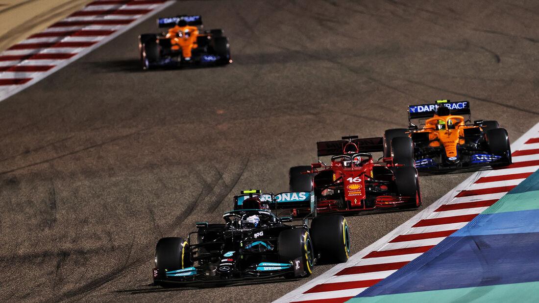 Valtteri Bottas - Mercedes - Formel 1 - GP Bahrain 2021 - Rennen