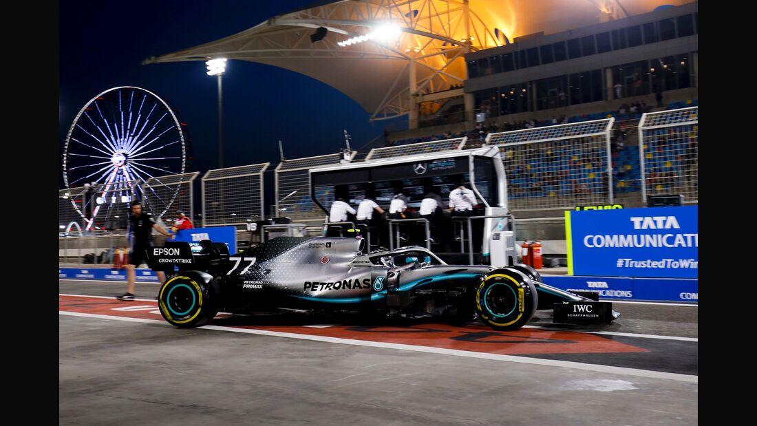 Valtteri Bottas - Mercedes - Formel 1 - GP Bahrain - 29. März 2019