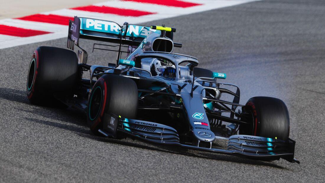 Valtteri Bottas - Mercedes - Formel 1 - GP Bahrain - 30. März 2019