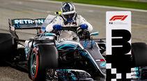 Valtteri Bottas - Mercedes - Formel 1 - GP Bahrain - 7. April 2018