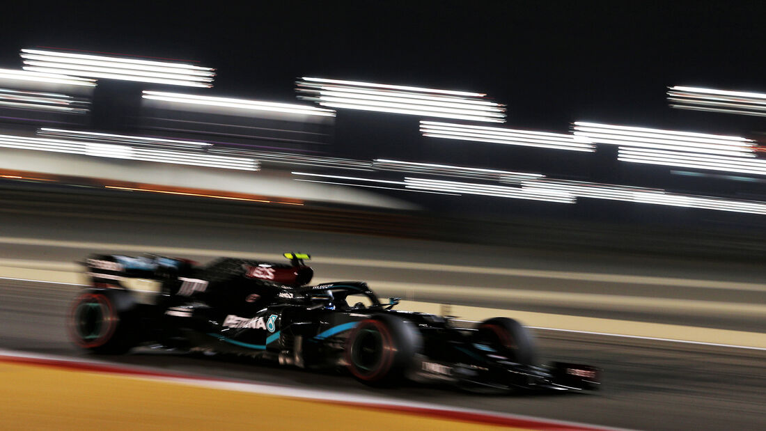 Valtteri Bottas - Mercedes - Formel 1 - GP Bahrain - Sakhir - Freitag - 27.11.2020