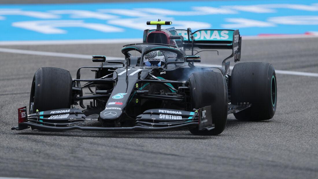 Valtteri Bottas - Mercedes - Formel 1 - GP Bahrain- Sakhir - Freitag - 27.11.2020