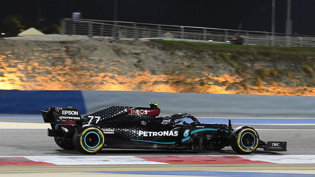 Valtteri Bottas - Mercedes - Formel 1 - GP Bahrain - Sakhir - Qualifikation - Samstag - 28.11.2020