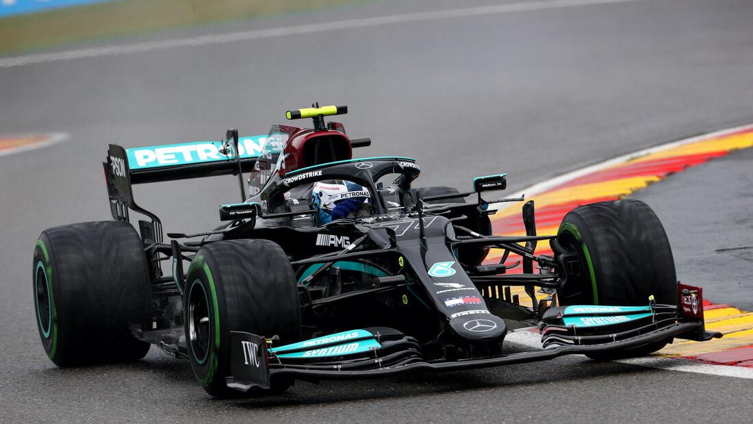 Valtteri Bottas - Mercedes - Formel 1 - GP Belgien - 28. August 2021