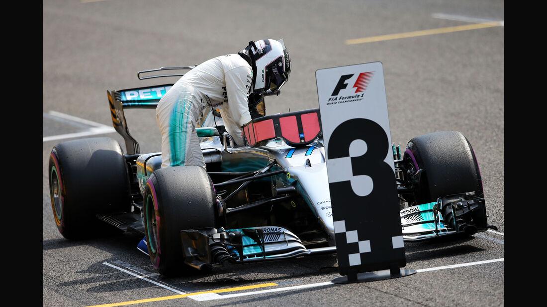 Valtteri Bottas - Mercedes - Formel 1 - GP Belgien - Spa-Francorchamps - 26. August 2017