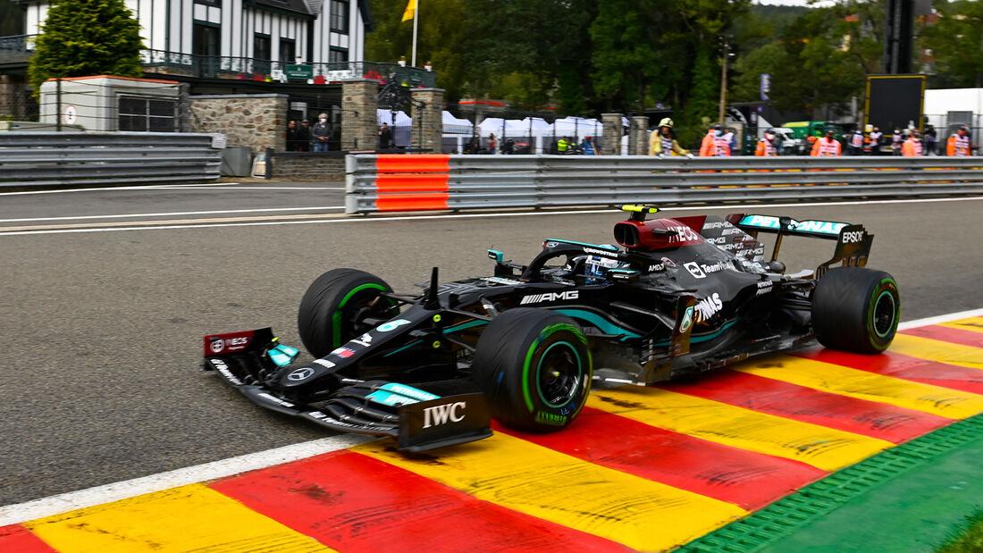 Valtteri Bottas - Mercedes - Formel 1 - GP Belgien - Spa-Francorchamps - 27. August 2021