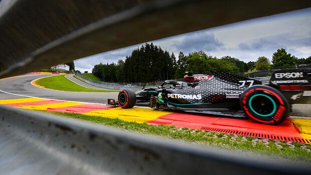 Valtteri Bottas - Mercedes - Formel 1 - GP Belgien - Spa-Francorchamps - 28. August 2020
