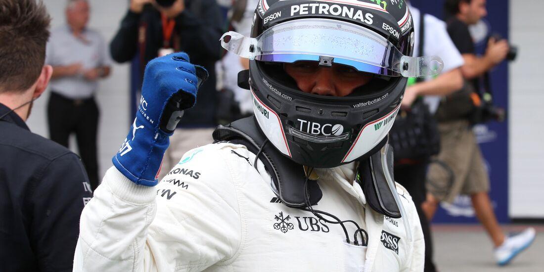 Valtteri Bottas - Mercedes - Formel 1 - GP Brasilien - 11. November 2017