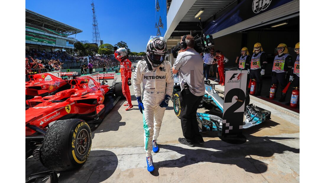 Valtteri Bottas - Mercedes - Formel 1 - GP Brasilien - 12. November 2017