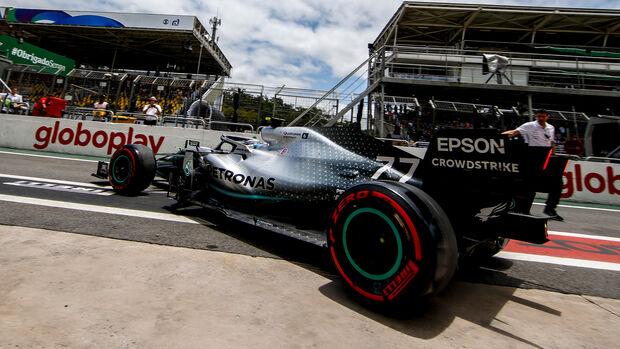 Valtteri Bottas - Mercedes - Formel 1 - GP Brasilien - Sao Paulo - 16. November 2019