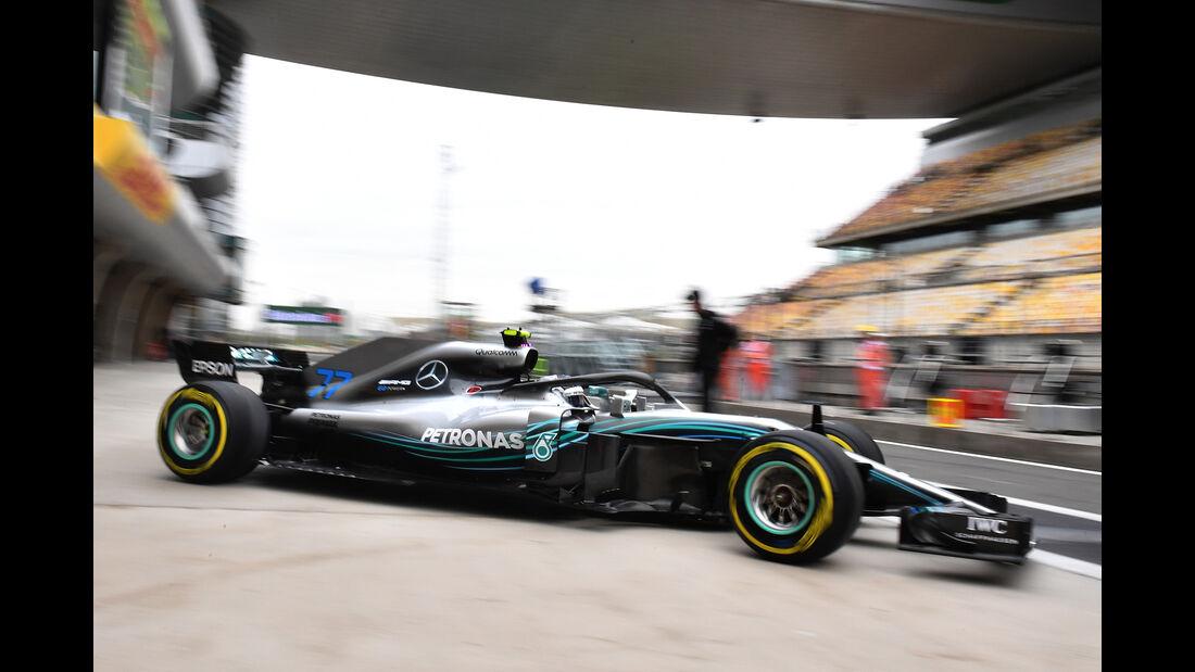 Valtteri Bottas - Mercedes - Formel 1 - GP China - Shanghai - 13. April 2017