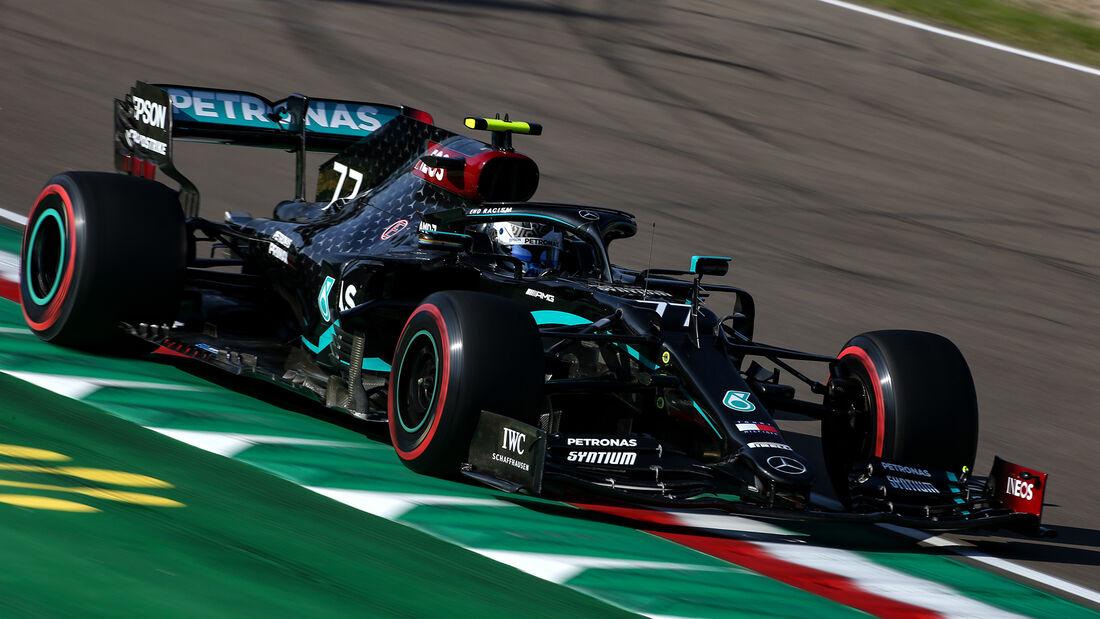 Valtteri Bottas - Mercedes - Formel 1 - GP Emilia-Romagna - Imola - Samstag - 31.10.2020