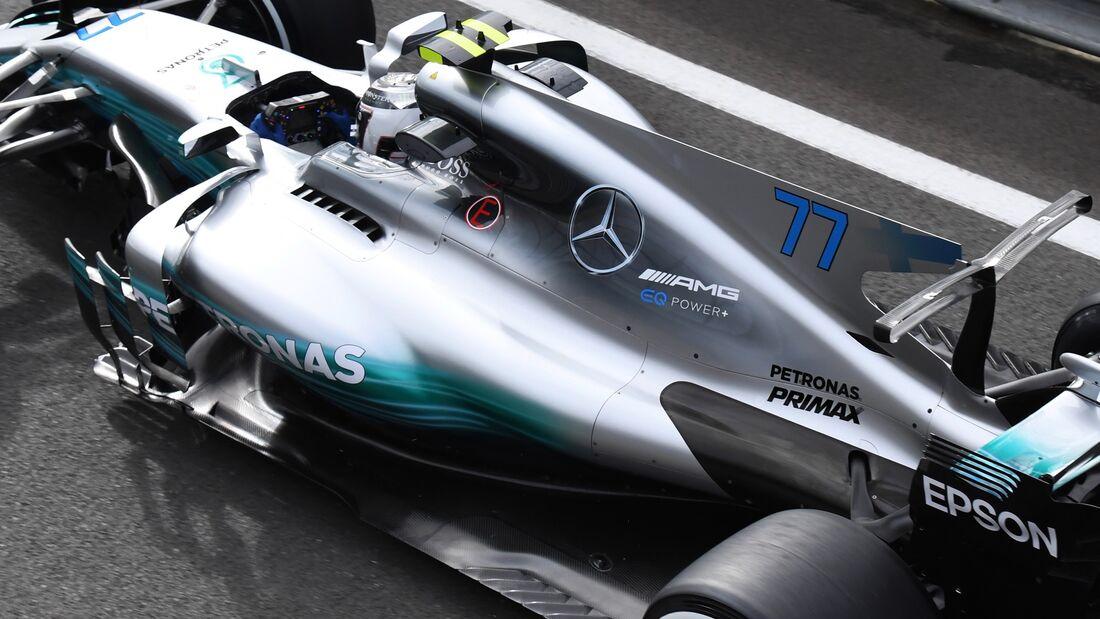 Valtteri Bottas - Mercedes - Formel 1 - GP England - 14. Juli 2017