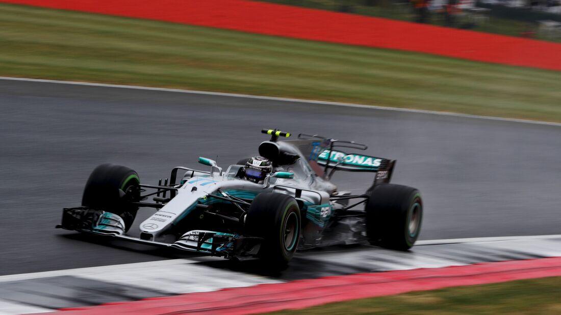 Valtteri Bottas - Mercedes - Formel 1 - GP England - 15. Juli 2017