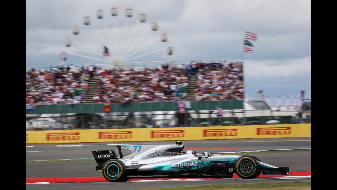 Valtteri Bottas - Mercedes - Formel 1 - GP England - 16. Juli 2017