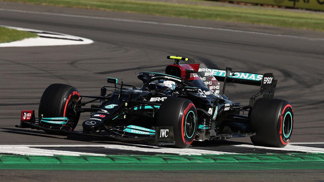 Valtteri Bottas - Mercedes - Formel 1 - GP England - Silverstone - 17. Juli 2021
