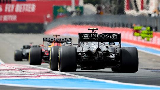 Valtteri Bottas - Mercedes - Formel 1 - GP Frankreich 2021
