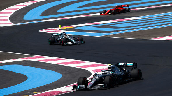 Valtteri Bottas - Mercedes - Formel 1 - GP Frankreich - 21. Juni 2019