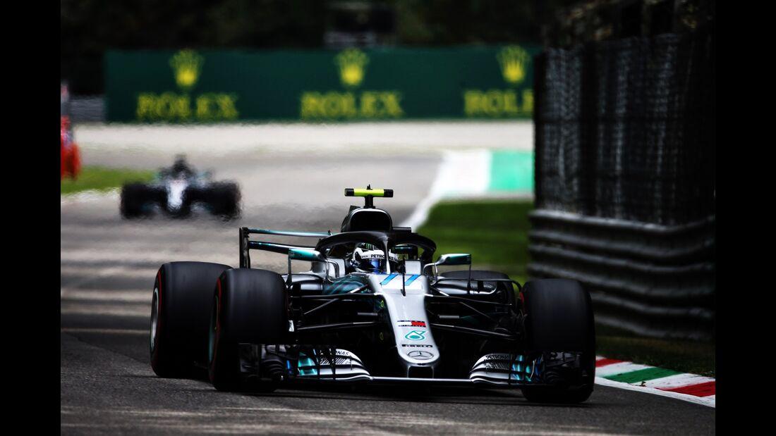 Valtteri Bottas - Mercedes - Formel 1 - GP Italien - 01. September 2018