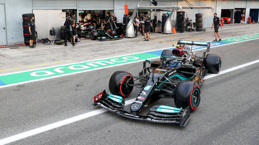 Valtteri Bottas - Mercedes - Formel 1 - GP Italien - Monza - 10. September 2021