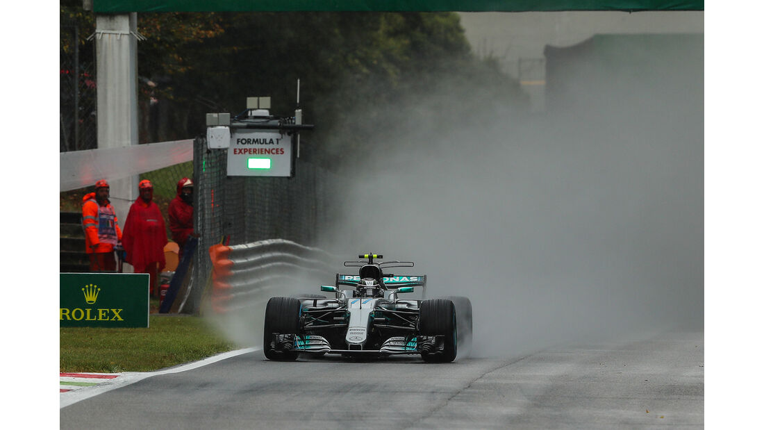 Valtteri Bottas - Mercedes - Formel 1 - GP Italien - Monza - 2. September 2017